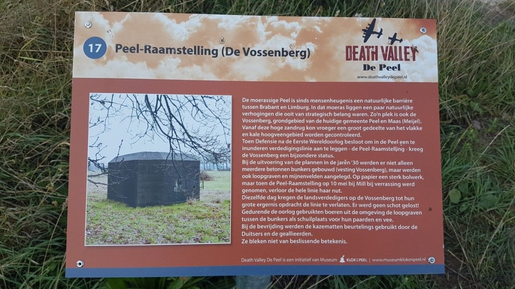 Death Valley Vesting de Vossenberg klein